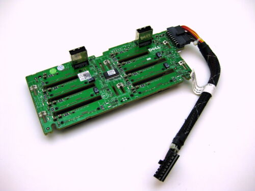 Tested /& Working Dell PowerEdge R710 SAS Backplate With Power Cable 0MX827