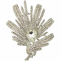 Kirks Folly Large Crystal Burst Pin Pendant