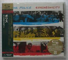 The POLICE-Synchronicity GIAPPONE SHM CD OBI nuovo rar! UICY - 90742 SEALED