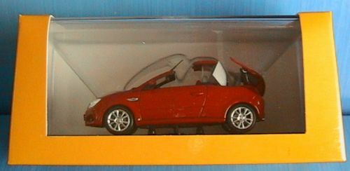 OPEL TIGRA TWINTOP 2004 MINICHAMPS MINICHAMPS MINICHAMPS 1 43 red RED red red SPIDER CONgreenIBLE d5f9d5