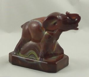 BERMUDA-SLAG-Boyd-Glass-ZACK-THE-ELEPHANT-1-9-85-Brown-Yellow-32