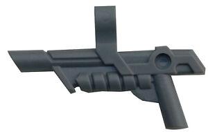 Lego-10-Stueck-Gewehr-in-dunkelgrau-dark-bluish-gray-Pistole-15445-Waffe-Neu