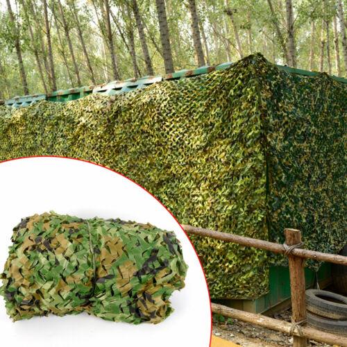 6x4m Tarnnetz Verstecken Deckungslager Armee Army Netz Camo Camping Jagd Tarnung