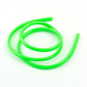 Coolant Green Silicone 4mm x 2m Vacuum Hose Replacement Pipe Water