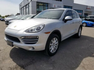 2014 Porsche Cayenne Premium|AWD|Mem, Seats|Leather|PWR Roof