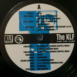 The-KLF-Last-Train-To-Trancentral-Live-1991-UK-Vinyl-12-034-MINT-UNPLAYED