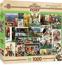 1000 SATURDAY EVENING POST JIGSAW PUZZLE FAMILY TIME NORMAN ROCKWELL #71624