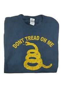 Grunt-Style-DON-039-T-TREAD-ON-ME-T-Shirt-Blue-Size-4XL-XXXXL-Gildan-100-Cotton