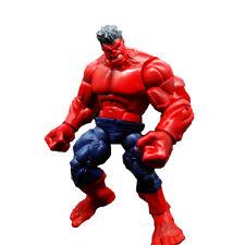 "Hasbro red hulk action figure 8 /"" old loose"