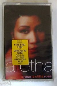 ARETHA-FRANKLIN-A-ROSE-IS-STILL-A-ROSE-Musicass-Cassette-Tape-MC-K7-Sealed
