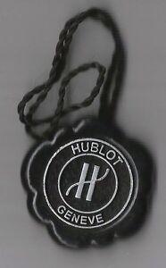 Other Watches Adroit Vintage Hublot Geneve Hang Tag Sello Showcase Etiquette Horloge