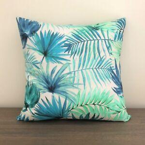 Teal-Rainforest-Cushion-Cover-40cm-x-40cm