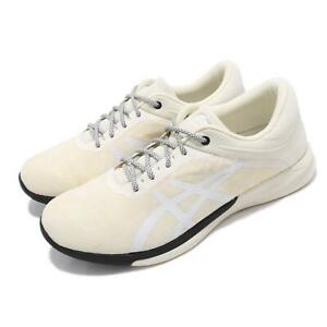 Asics FuzeX Rush Kaleidoscope Cream Black Reflective Men Running Shoe T7L1N-0000