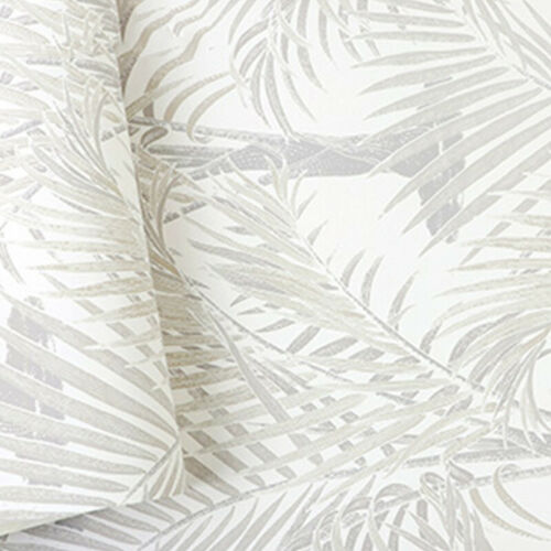 1 M Forest Plant Wallpaper Non-woven Damask Tropical Palm Tree Leaves Roll Home