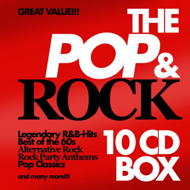CD The Pop And Rock Box di Vari Artisti 10 CD