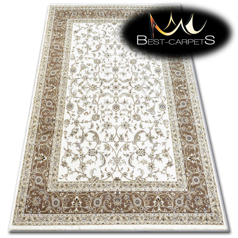 Muy Grueso Y Acrílico, alfombras de lana tejido denso  Klasik  Alfombras De Alta Calidad