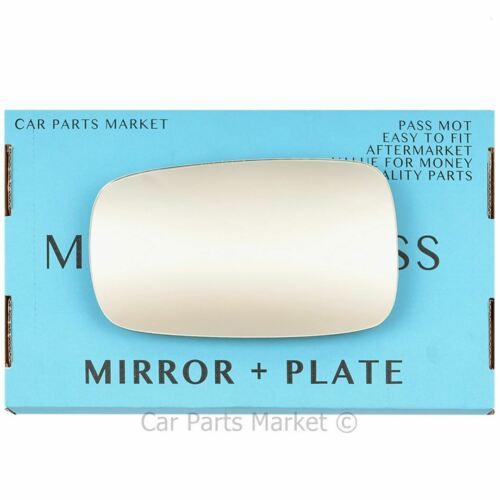 Left Side Wing Door Mirror Glass For Renault Clio MK3 2005-2009 Plate