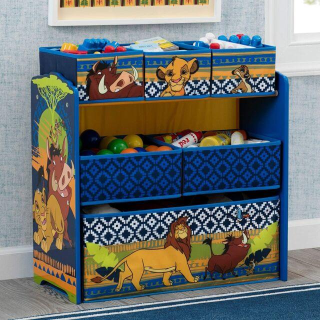 Toy Storage Organizer 6 Bin Disney Lion King Simba Design ...