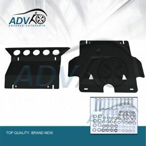 Durable-Steel-Bash-Plate-for-Toyota-Hilux-Vigo-2005-2015-SR-Black-Front-Guard