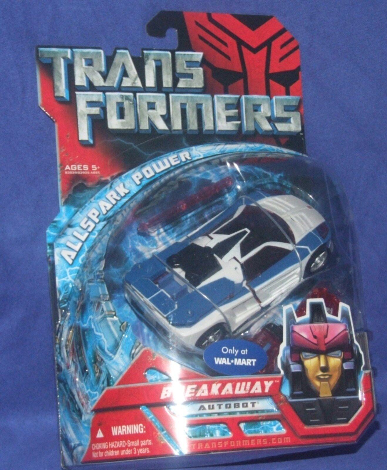 Transformers Movie Deluxe Class WALMART EXCLUSIVE Autobot Breakaway 2008  NEUF  autorisation de vente de la marque