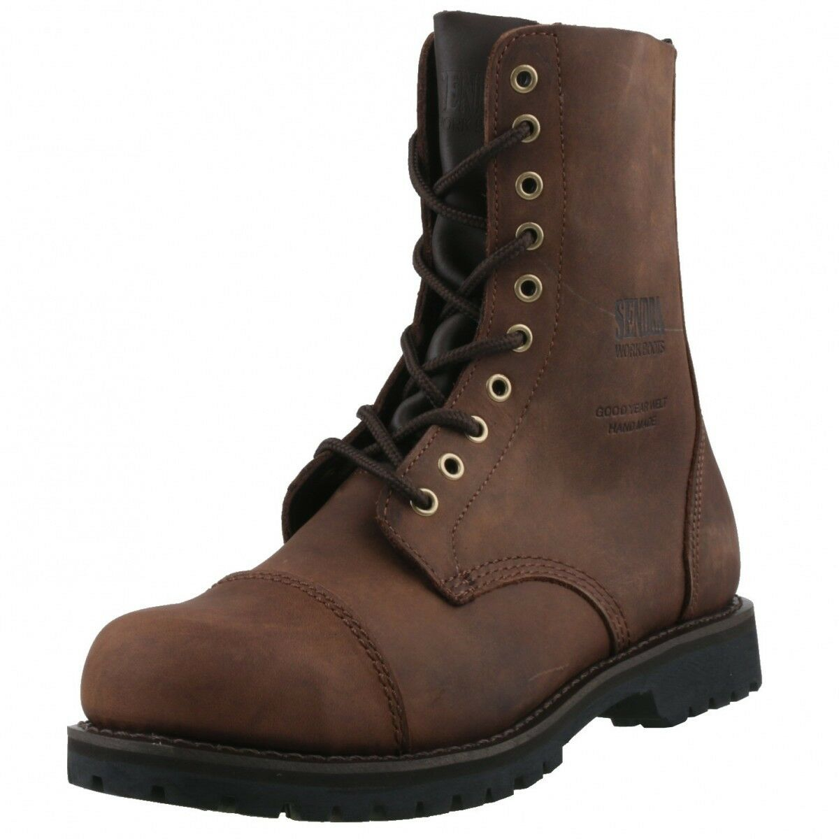 Nuevo Sendra engineerbotas worker combate 6478 marrón