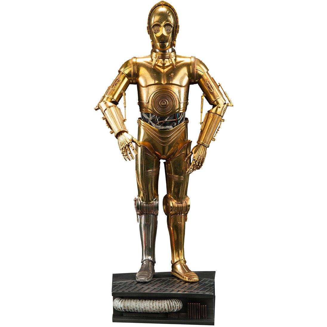 bajo precio del 40% Estrella Estrella Estrella Wars-estatua de formato Premium C-3PO  Todos los productos obtienen hasta un 34% de descuento.