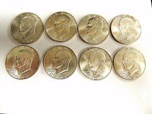 1976-S-Eisenhower-Bicentennial-Conmemorativas-de-Plata-Dollars-034-Uno-Por-Orden-034