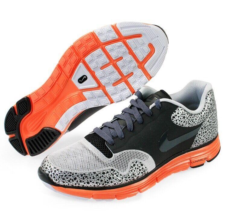 Nike Lunar Safari Fuse Sz 9 Black Grey Orange Atmos Air Max 1 Zero SF Giants