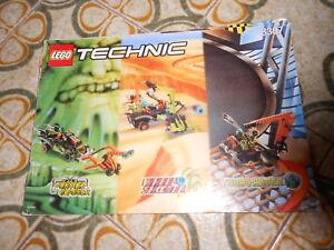 LEGO 8307-1: Turbo Racer SOLO LIBRETTO D'ISTRUZIONI NOTICE / INSTRUCTIONS - Italia - LEGO 8307-1: Turbo Racer SOLO LIBRETTO D'ISTRUZIONI NOTICE / INSTRUCTIONS - Italia