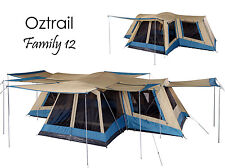 item 4 OZTRAIL FAMILY 12 Person (4 ROOM) Dome Family Tent - Sleeps 12 -OZTRAIL FAMILY 12 Person (4 ROOM) Dome Family Tent - Sleeps 12  sc 1 st  eBay & OZtrail SPORTIVA Lodge Combo (3-room) Family Tent / Sleeps 12 | eBay