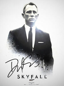 Daniel Craig Signed Photo James Bond 007 Skyfall Spectre Quantum Of Solace Auto Ebay
