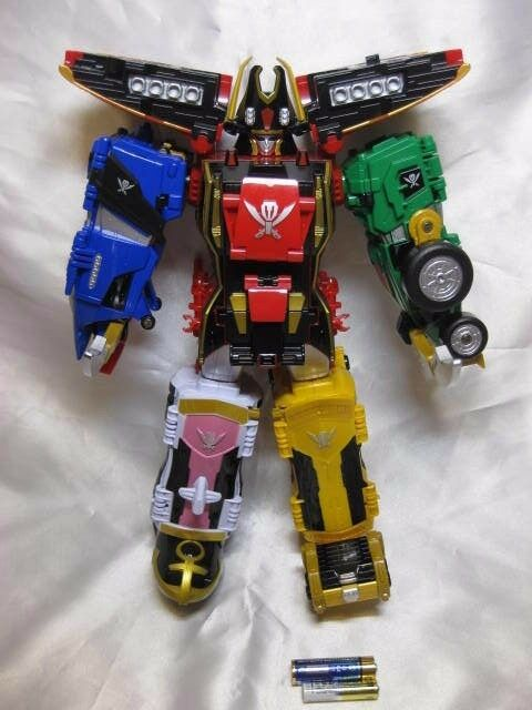 Power Ranger Super Megaforce Gokaiger DX Gokai-oh Legendary Megazord