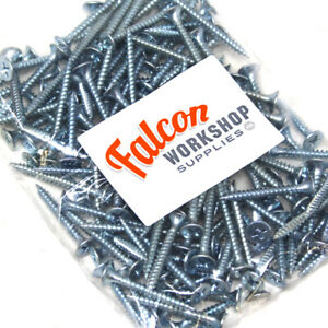 200g-OF-039-MIXED-IN-THE-PACK-039-DRYWALL-SCREWS-M3-5-ZINC-FINE-THREAD-SHARP-POINT-BZP