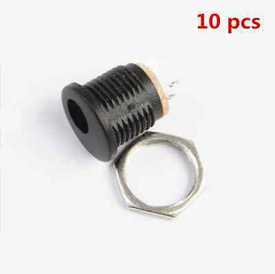 10* New DC-022 DC Power Outlet Diameter 5.5mm Inner pin 2.1mm (5.5*2.1mm)