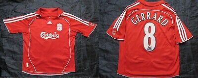 Adidas FC Liverpool jersey 8 Steven Gerrard 200910 This is anfield away men's M or L