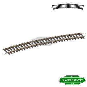 Hornby-R608-Third-Radius-Single-Curve-Track-Pieces-Single-OO-Gauge-1-76-Scale
