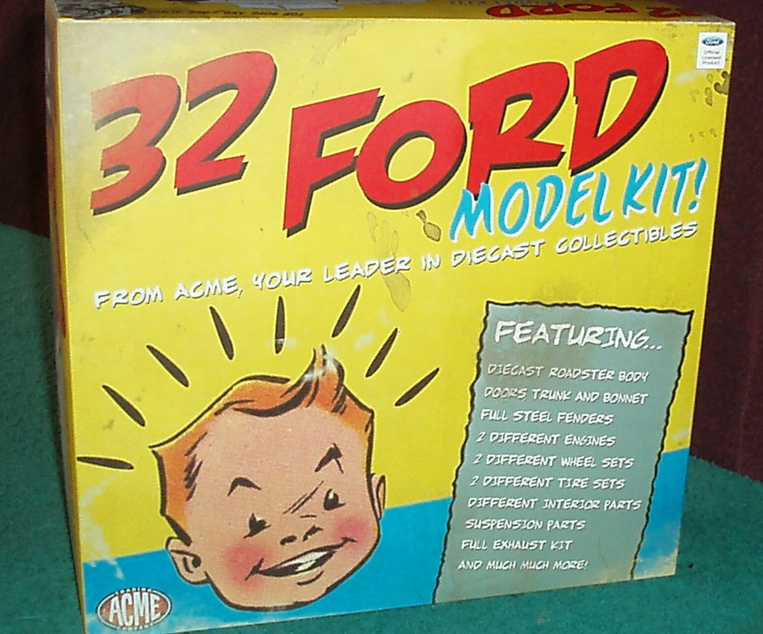 ACME/GMP 1932 FORD ROADSTER CONVERTABLE ASSEMBLY DIECAST MODEL KIT 1/18 RARE!