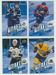 2019-20-Upper-Deck-CHL-Draft-Ready-U-Pick-COMPLETE-YOUR-SETS