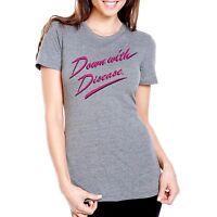 Lady's Grey Phish Down With Disease T-shirt Parody Shirt Concert Tees