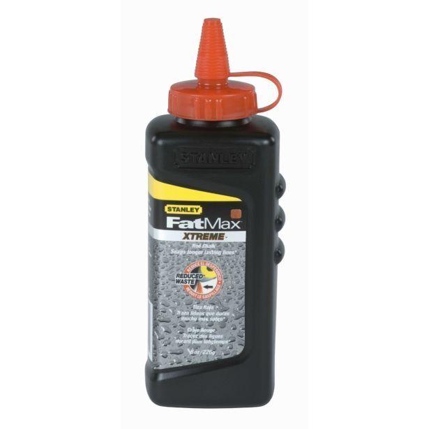 4x Stanley FatMax XTREME ROT CHALK 8oz Waterproof USA Brand