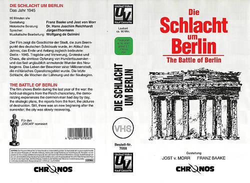 (VHS) Die Schlacht um Berlin - Dokumentation: Krieg