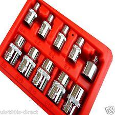 10pc E Star Femail Torx Sockets E4 - E14