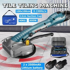 12V-40KG-Handheld-Electric-Tile-Vibrator-Automatic-Leveling-Machine-Dual-Li-ion