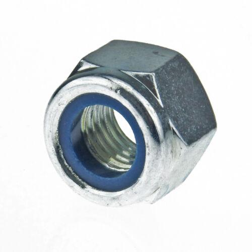 Selbstsichernde Sechskantmuttern mit Klemmteil ISO 7040 8 Stahl galv verzinkt