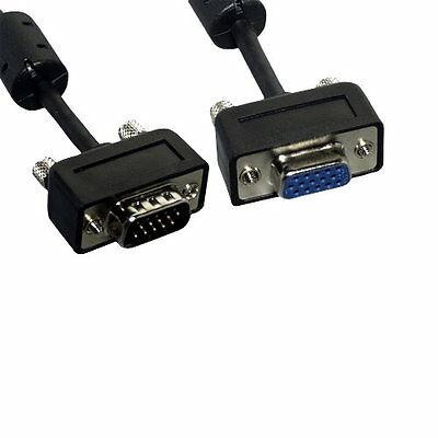 Ultra-Slim SVGA HD15 M//F Monitor Extension Cable 50 ft
