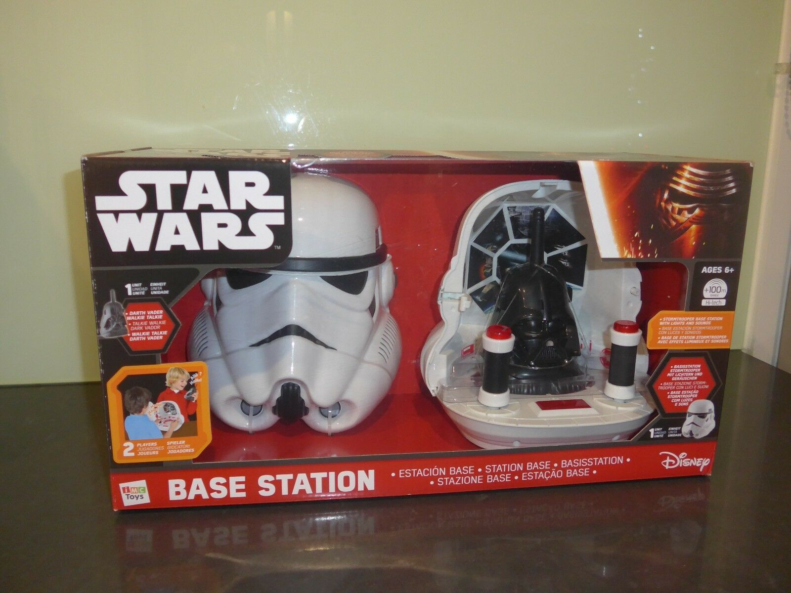 Star Wars Base Station for ages 6 +