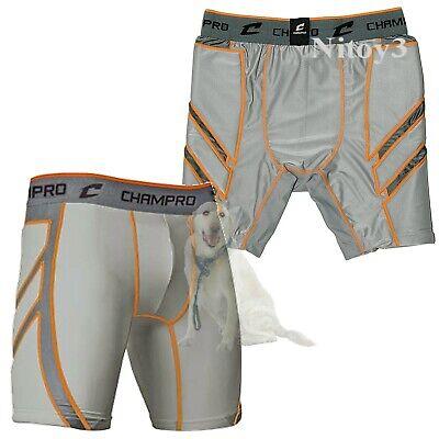 BPS15C Champro Wind-Up Men/'s Baseball Sliding Shorts W// Cup NEW!