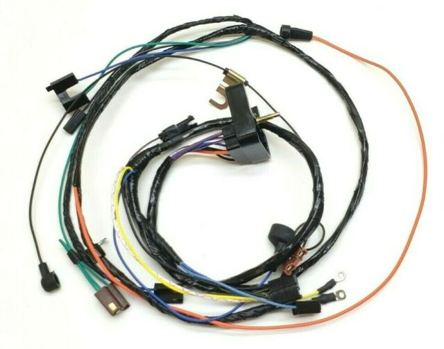 Engine Wiring Harness 1970 Chevelle El Camino Monte 307