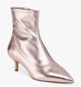 f1c4f191d66 Details about FREE PEOPLE Marilyn Kitten Heel Boots,Rose, 38! New