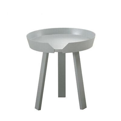 Nordic Small Coffee Table Living Room Sofa Side Round Mini Tea Tray Wood Legs Uk Ebay
